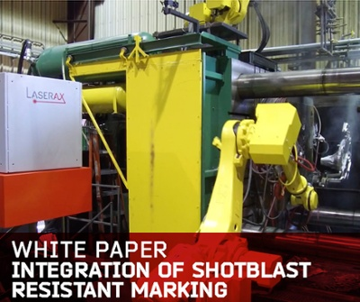 Read the white paper - Integration of Shotblast Resistant Marking