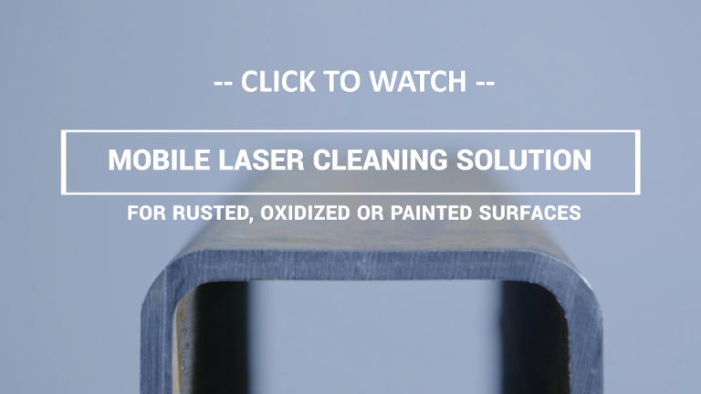 Click here to watch video of Laserax's mobile laser cleaning system