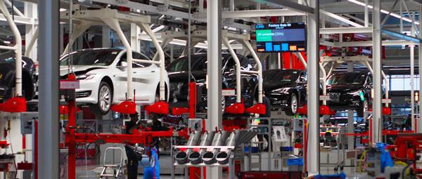 Ligne de production manufacturier