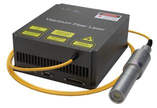 An ytterbium-doped pulsed fiber laser