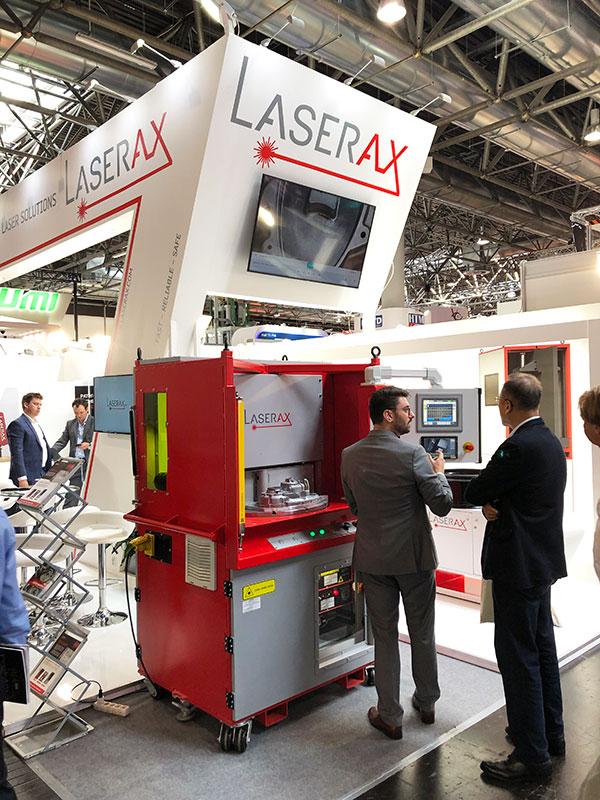 Laserax Workstation GIFA 2019