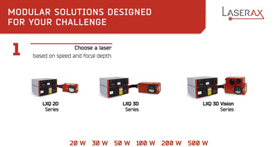 Solutions laser modulaire