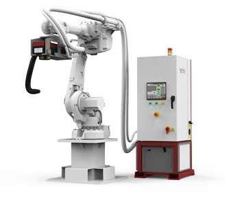 Robot Laser Cleaning Machine