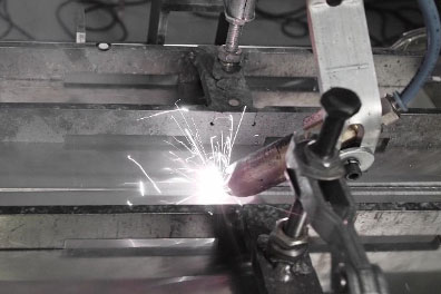 Weld preperation with laser cleaning