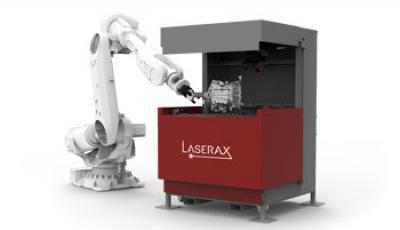 Laserbeschriftungs-Maschine mit automatisierter Tür