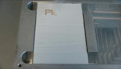 Démonstration marquage laser sur PVC
