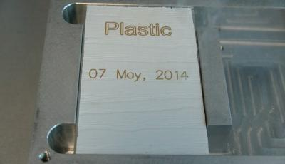 Laser marking of plastics