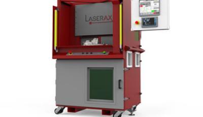 Station de marquage laser à table rotative