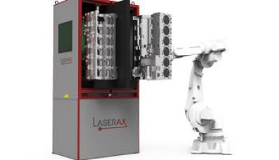 Machine de marquage laser à table rotative